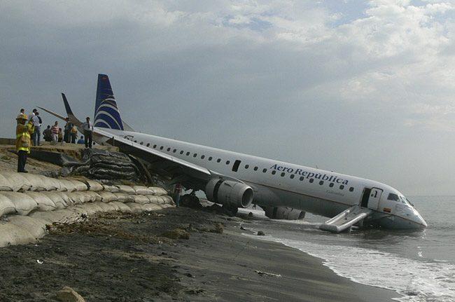 rceni-10 Aterrizajes De Emergencia Más Increíbles Del Mundo