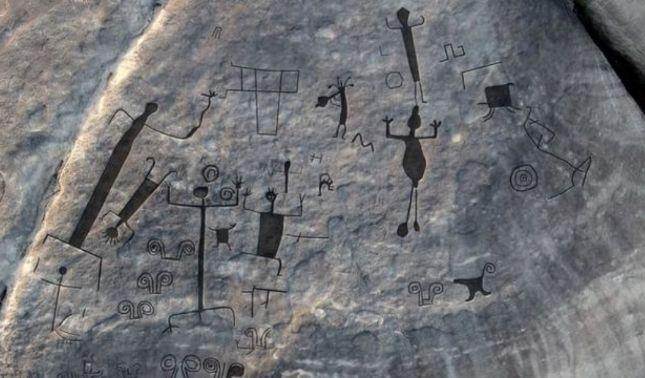 rceni - Petroglifos más grandes del mundo -son -localizados- en -Venezuela-