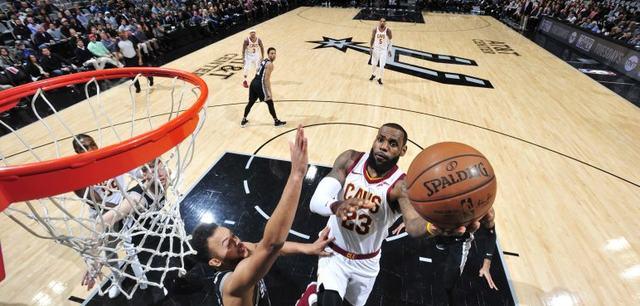 RCENI-LeBron James alcanza la marca de Michael Jordan