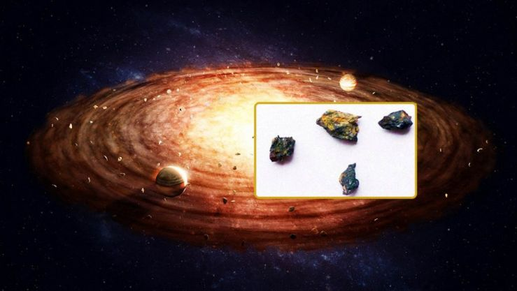 Roca encontrada en Egipto posee compuestos nunca vistos en el Sistema Solar