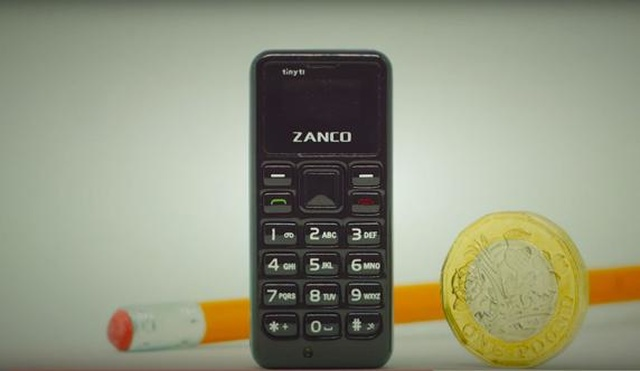 rceni-El teléfono móvil más pequeño del mundo pesa 13 gramos