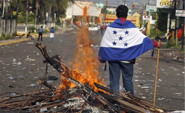 rceni-Honduras -Crisis- política -y -social