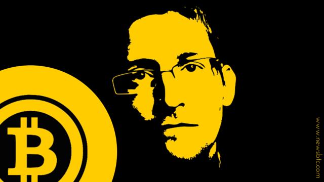 rceni- Edward Snowden -bitcoin