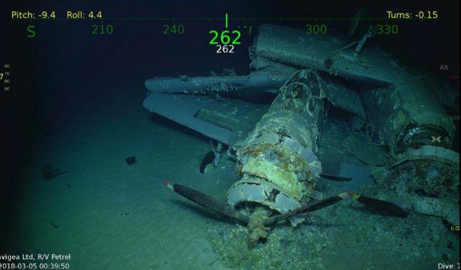 rceni - USS Lexington -encuentras -sus -restos- 76- años -despues -