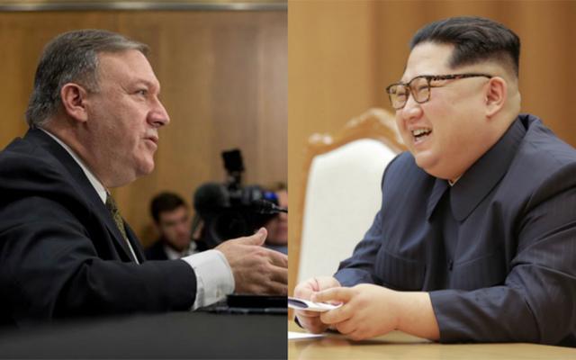 rceni - Mike -Pompeo -se -reunió- con- Kim Jong