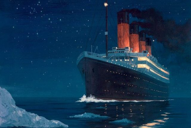 """RCENI-El Titanic """"El barco de los sueños"""""""