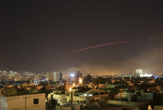 rceni-EEUU,Reino Unido y Francia lanzan Ataque a Siria
