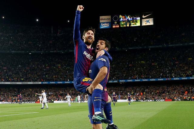 RCENI-Barcelona empató 2-2 con el Real Madrid