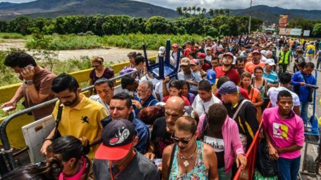 rceni -diáspora venezolana -hasta -los - militares - se van