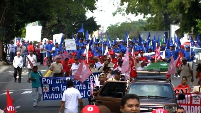 rceni - huelga de la construcción -Panamá