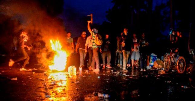 rceni - represión en nicaragua - siguen - los -enfrentamientos_
