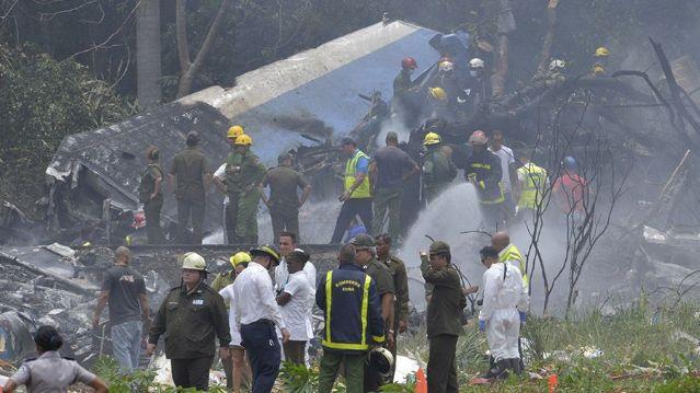 rceni - desastre aéreo en cuba -