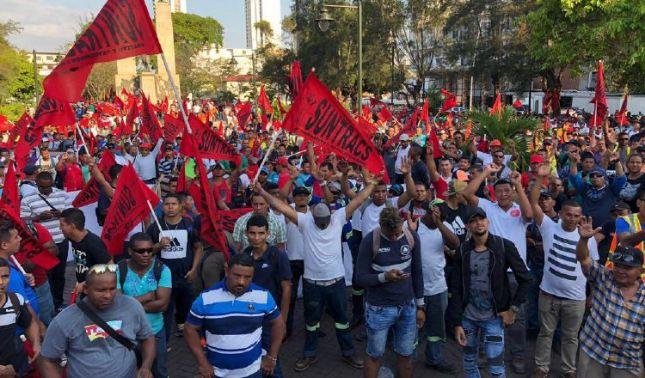 rceni -finaliza huelga en panamá -