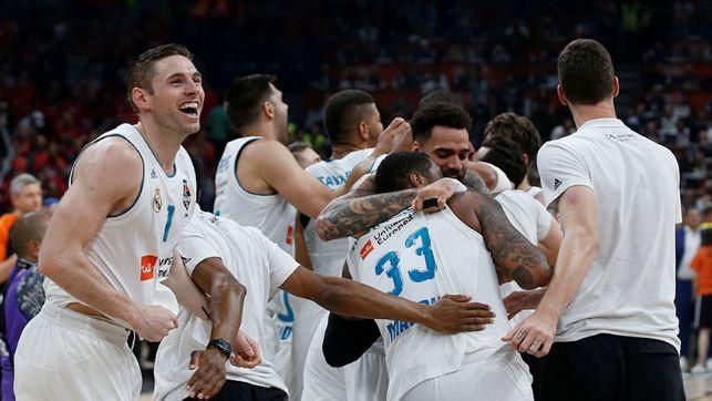 rceni - El Real Madrid de baloncesto -gana -la -euroliga