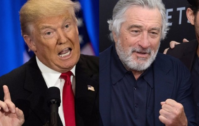 rceni - Trump responde a Robert de Niro -de forma-muy-dura-