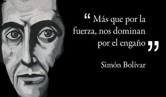 rceni - Simón Bolívar - la-reflexion-del-dia