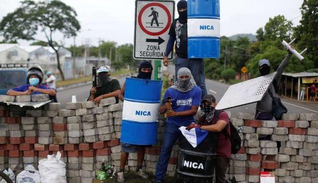 rceni -6.000 camiones de carga -atrapados -en-conflicto -de-Nicaragua-
