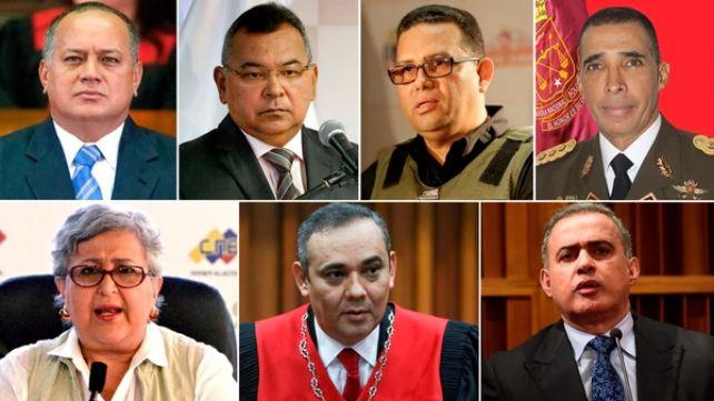 rceni -UE impone sanciones a 11 funcionarios -del-gobierno-de-Maduro-