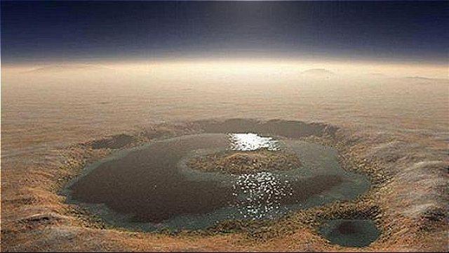 rceni - Agua en Marte -descubierto -el-primer- lago -en -el -polo- sur-