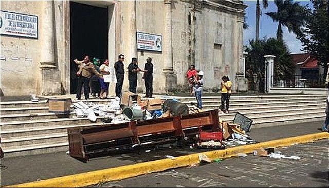 rceni - Ortega en persecución de la iglesia -catolica-de-Nicaragua -