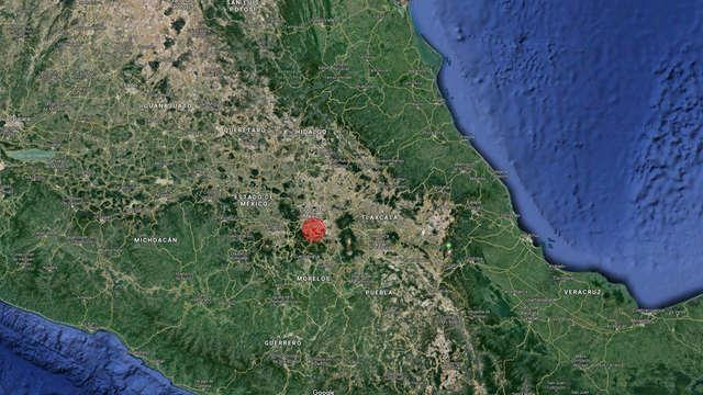 rceni - Sismo en Oaxaca México -magnitud -5.9 -