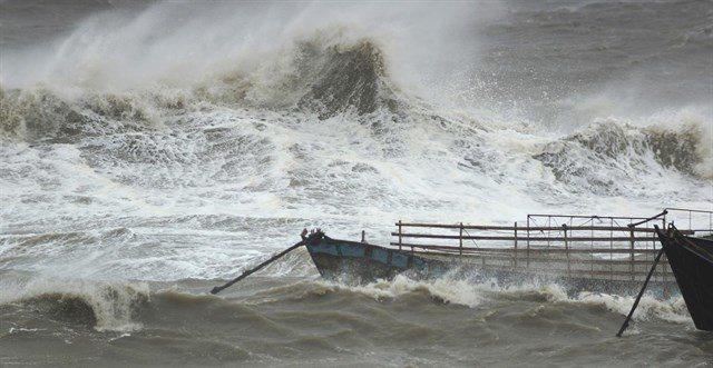 rceni - Tifón Ampil - toca - tierra -en -Shanghái -más- de- 230.000- personas -evacuadas-