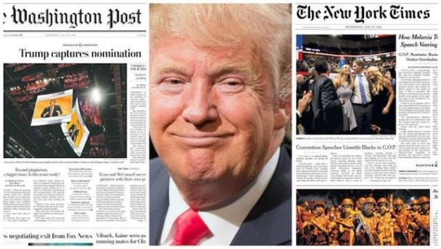 rceni - Trump predice-cierre -The- New -York -Times- y -The -Washington- Post-