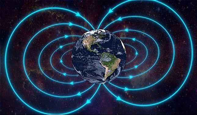 rceni - Campo magnético - de - la- tierra -se -acerca -un -cambio- rapido-