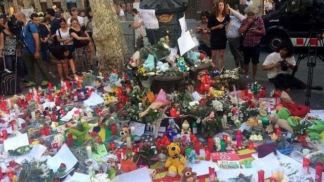 rceni - Cataluña homenaje a las víctimas -un- año- después- de- los- atentados-