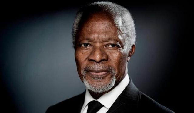 rceni - Kofi Annan -ex secretario- general- de- la -ONU -y -Nobel -de- la -Paz- fallece -
