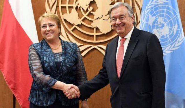 rceni - Michelle Bachelet - es -ahora- Alto- Comisionado- de-ddhh- en- la- ONU-