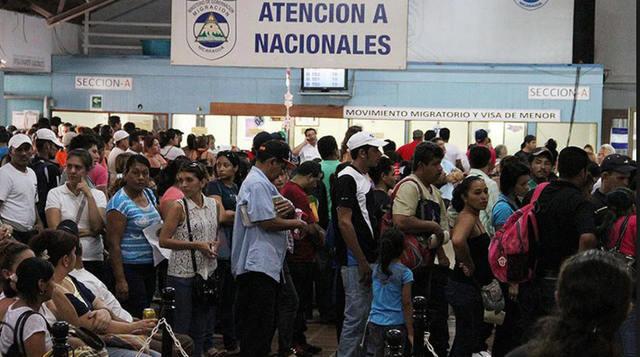 rceni - Nicaragüenses en buscan asilo -en- Costa-Rica