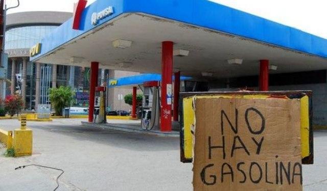rceni - grave escasez de combustible -y -racionamiento- en -Venezuela-