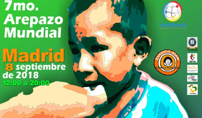 rceni - AREPAZO EN MADRID -España- en- el- día- Mundial- de -la -Arepa-