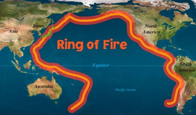 rceni - Cinturón de fuego del océano pacifico -zona -de -volcanes- y -terremotos-