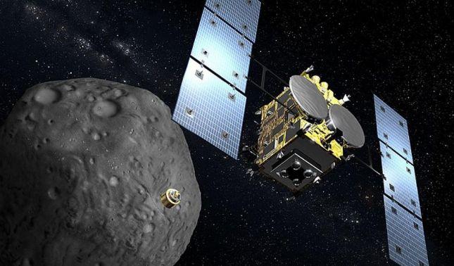 rceni - Hayabusa 2 -Japón- hace -aterrizar -dos- sondas -sobre -el -asteroide -Ryugu-