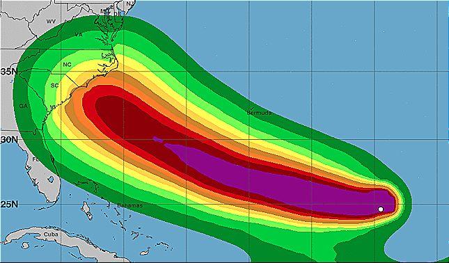 rceni - Huracán Florence en Carolina -declaran-el-estado-de-emergencia-