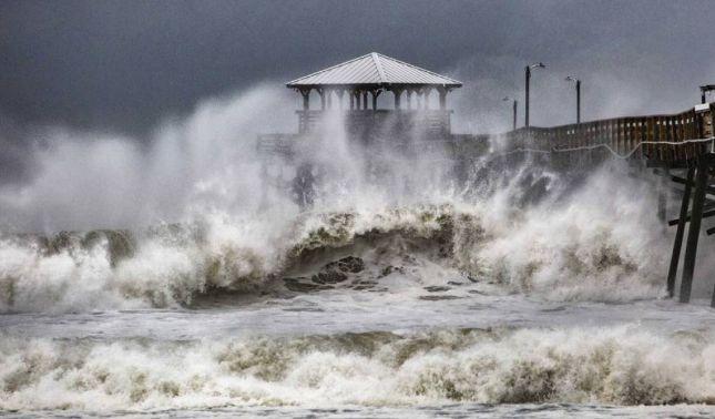 rceni - Marejada ciclónica -la -fuerza -más -destructiva -del-Huracán -Florence -