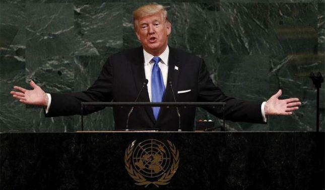 rceni - Trump en la ONU -afirma -que -golpe- militar- en- Venezuela- podría -triunfar- rápido-