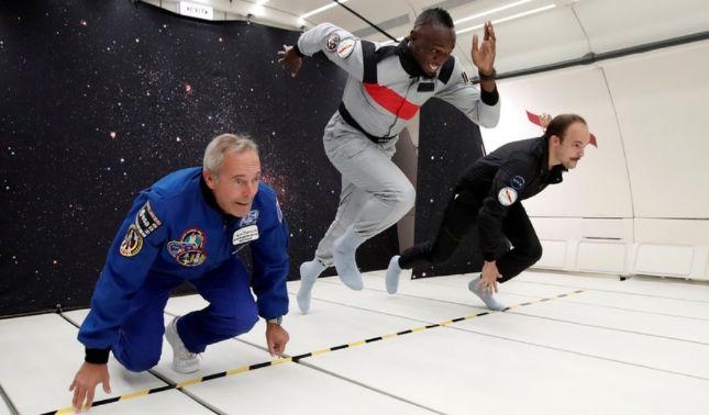 rceni - Usain Bolt -es -el -más -rápido -del -planeta- incluso -con -gravedad -cero -(Video)-