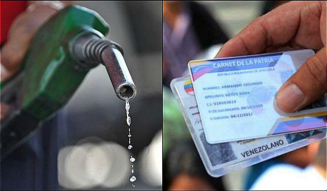 rceni - gasolina con carnet -de- la -patria- incluirá- la- huella- dactilar- en -Venezuela-