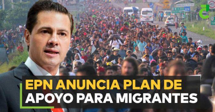 México anuncia plan de empleo, educación y salud para migrantes de Centroamérica
