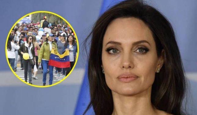 rceni - Angelina Jolie sobre Venezuela -Esto -es -más -serio -de -lo -que -se -creía-