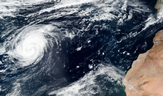 rceni - Huracán Leslie -se -debilita -en- España -y -pasa- como -tormenta -tropical-