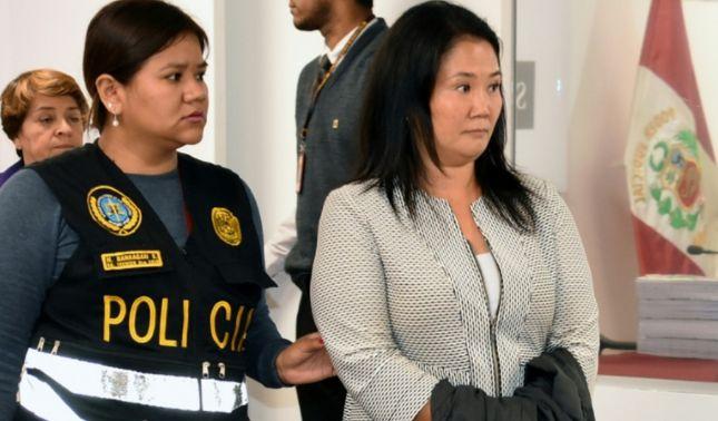 rceni - Keiko Fujimori -tribunal- del -Perú- ordena -prision-preventiva-