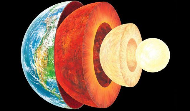 rceni - Núcleo interno de la tierra - científicos -logran- confirman- que -es- sólido -