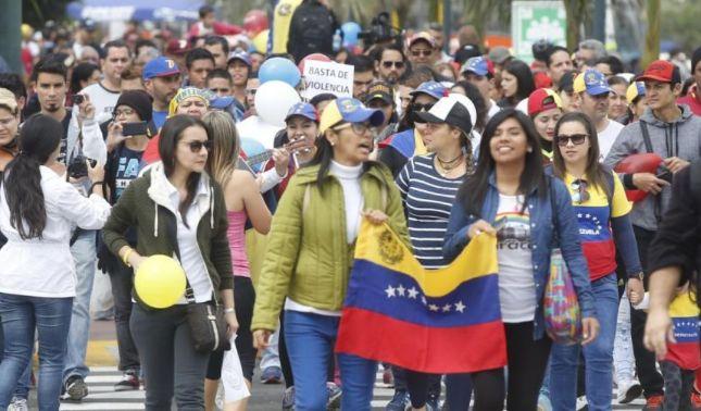 rceni - ONG Unión Venezolana en Perú -se -registraron- más -de -26 -mil- venezolanos -