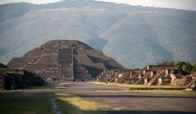 rceni - Pirámide de la Luna -descubren- un- túnel- y- una -cámara- secreta-