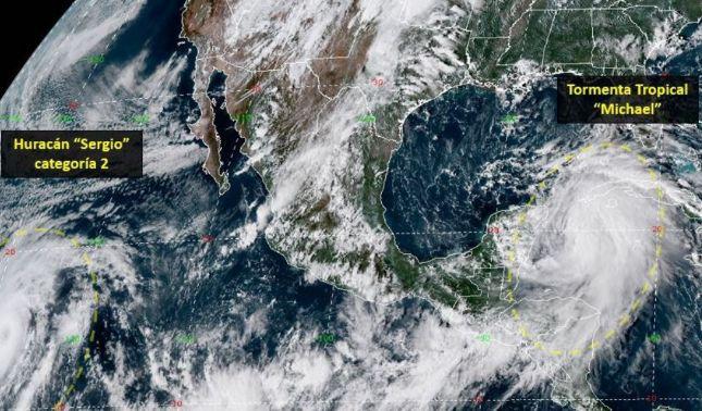rceni - Tormenta tropical Michael- está -a- punto- de- convertirse- en -un -huracán-