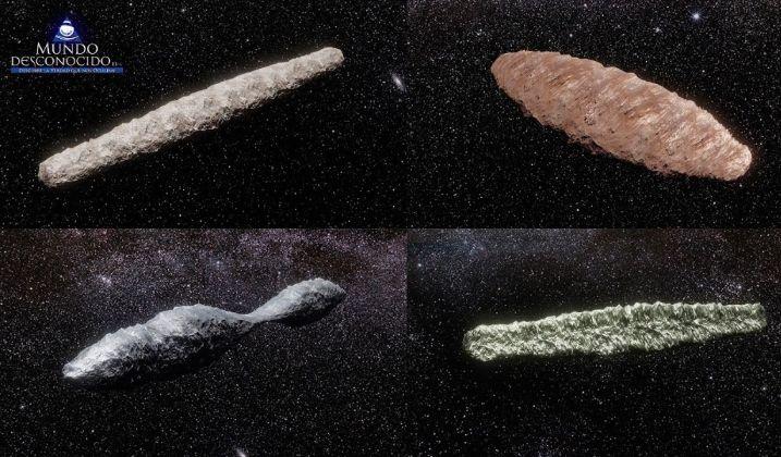 Descubren Cuatro Oumuamua Nuevos en el Sistema Solar Vídeo